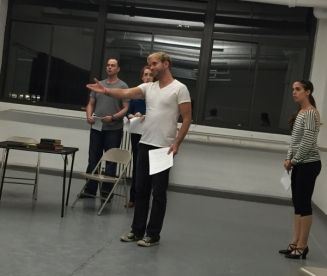 Banovez in rehearsal for Earnest